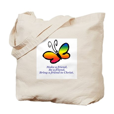 Cursillo Butterfly Tote Bag