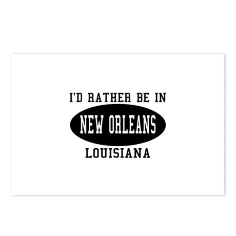 I'd Rather Be in New Orleans Postcards (Package of