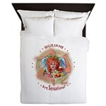 Sensational Sicilians Queen Duvet