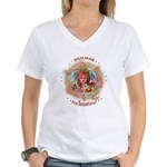Sensational Sicilians Women's V-Neck T-Shirt