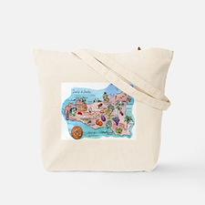 SICILIAN TRINACRIA Tote Bag