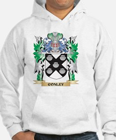 Conley Coat of Arms - Family Cre Hoodie