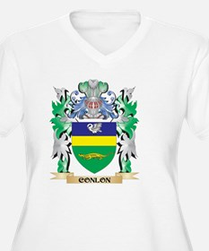 Conlon Coat of Arms - Family Cre Plus Size T-Shirt