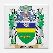 Conlon Coat of Arms - Family Crest Tile Coaster