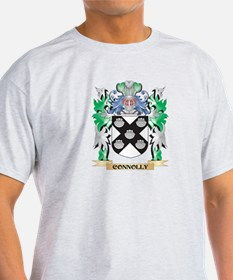 Connolly Coat of Arms - Family Crest T-Shirt
