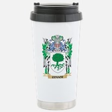 Connor Coat of Arms - F Stainless Steel Travel Mug