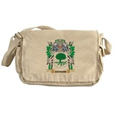 Connor Coat of Arms - Family Crest Messenger Bag