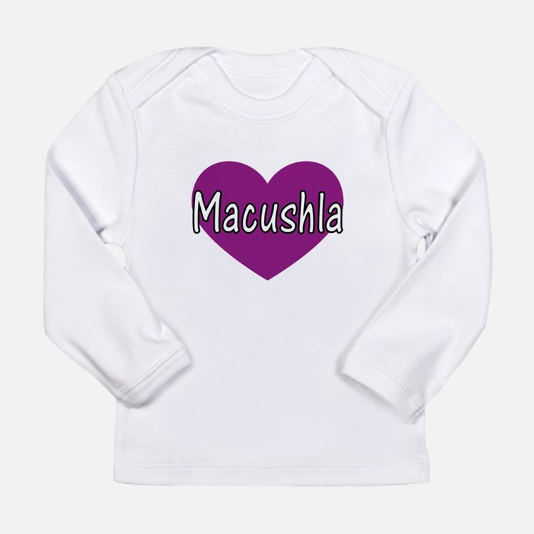Cute Girl name Long Sleeve Infant T-Shirt