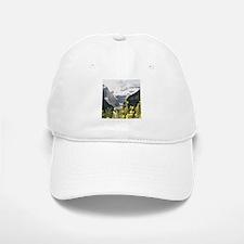 mountain landscape lake louise Baseball Baseball Cap
