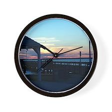 New Jersey Clock - Sunset