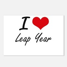 I Love Leap Year Postcards (Package of 8)