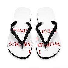 west virginia Flip Flops
