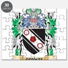 Conway Coat of Arms - Family Crest Puzzle