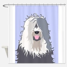 Unique Old english sheepdog Shower Curtain