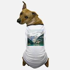 mountain landscape lake louise Dog T-Shirt