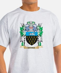 Cooke Coat of Arms - Family Crest T-Shirt