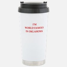 oklahoma Travel Mug