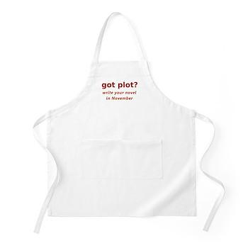 got plot? BBQ Apron