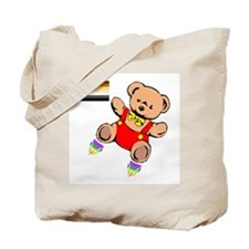Leather Teddy<br>Tote Bag