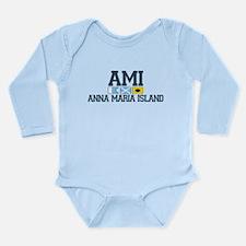 Cute Sarasota Long Sleeve Infant Bodysuit