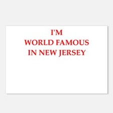 new jersey Postcards (Package of 8)