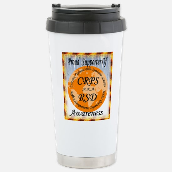 Proud Supporter of CRPS Stainless Steel Travel Mug