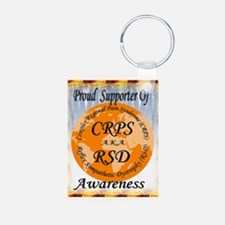 Proud Supporter of CRPS RSD Awareness Keychains