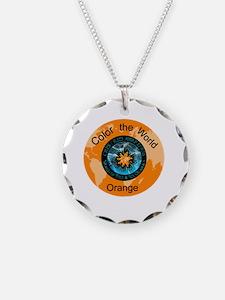 Color the World Orange CRPS Necklace