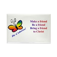 Cursillo Butterfly Rectangle Magnet (10 pack)