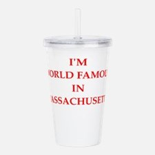 massachusetts Acrylic Double-wall Tumbler
