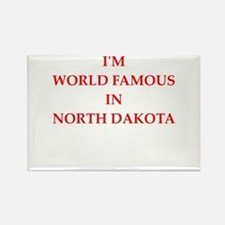 north dakota Magnets