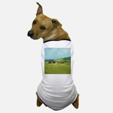 rustic rural farm landscape Dog T-Shirt