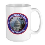 Washington D.C. Freemason Large Mug