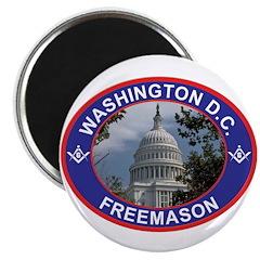 Washington D.C. Freemason Magnet