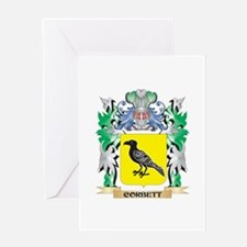 Corbett Coat of Arms - Family Crest Greeting Cards