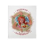 Sensational Sicilians Throw Blanket