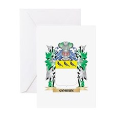 Corbin Coat of Arms - Family Crest Greeting Cards