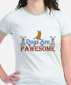 Dogs Are Pawesome 3 T-Shirt