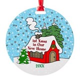 Our 1st christmas new home 2017 Ornaments