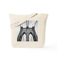 Brooklyn Bridge New York City close up ar Tote Bag