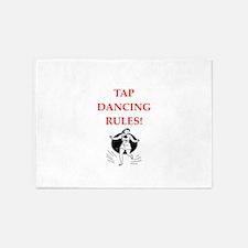 tap dancing 5'x7'Area Rug
