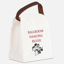 ballroom dancing Canvas Lunch Bag