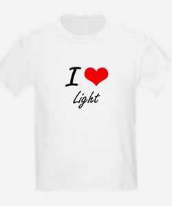 I Love Light T-Shirt