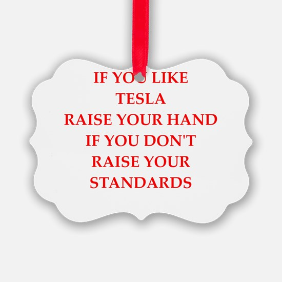 tesla Ornament