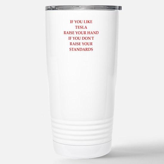 tesla Travel Mug