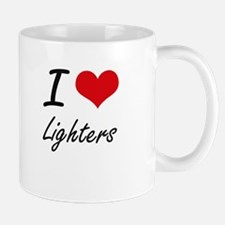 I Love Lighters Mugs