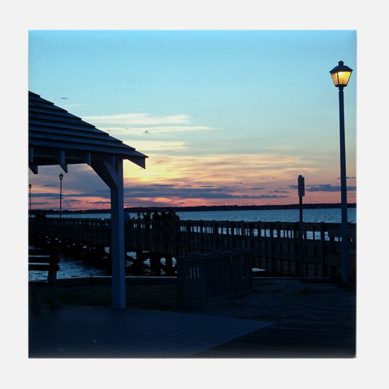 New Jersey Tile Coaster - Seaside