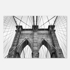 Brooklyn Bridge New York Postcards (Package of 8)