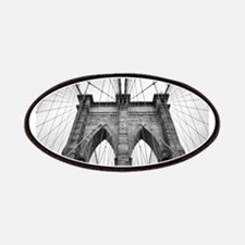 Brooklyn Bridge New York City close up archi Patch