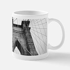 Brooklyn Bridge New York City close up archit Mugs